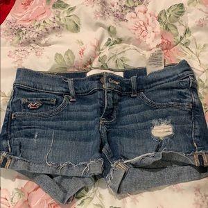 Hollister Jean shorts size w 24 / 0